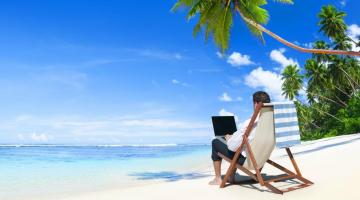 New study: Almost half of executives work on vacation